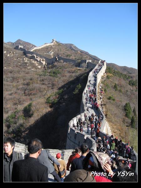 八達嶺長城-人擠人