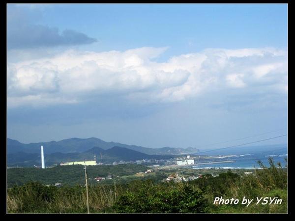 藍天白雲核電廠