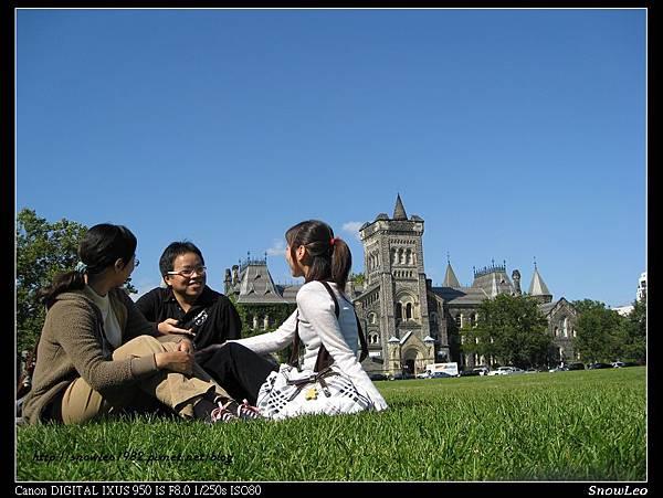 多倫多大學之假裝該校學生