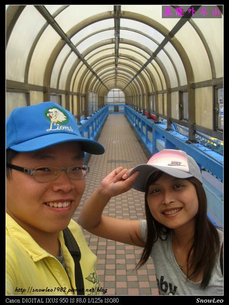 基隆站前天橋