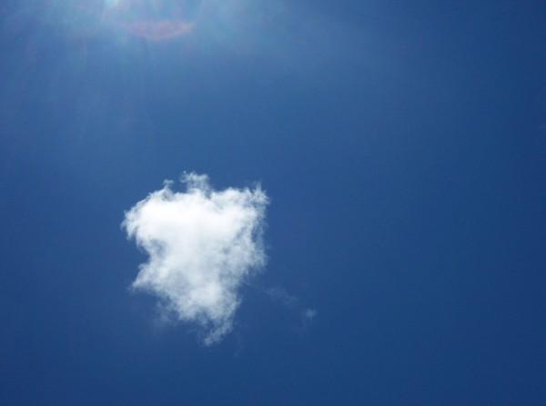 墾丁天空一朵雲