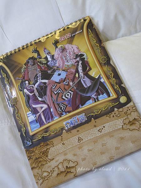 海賊王桌曆
