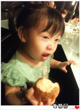麵包太好吃了