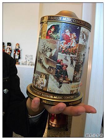 音樂盒茶罐