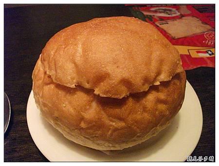 蛤蠣湯麵包