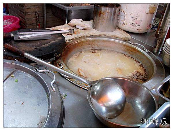 鍋裡米粉湯
