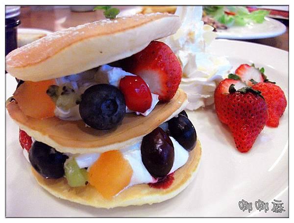 綜合水果鬆餅