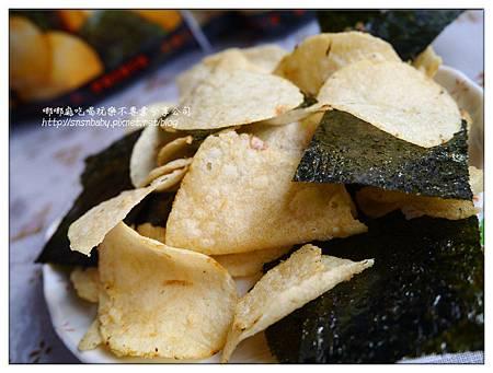 洋芋片加海苔