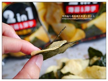 海苔夾洋芋片