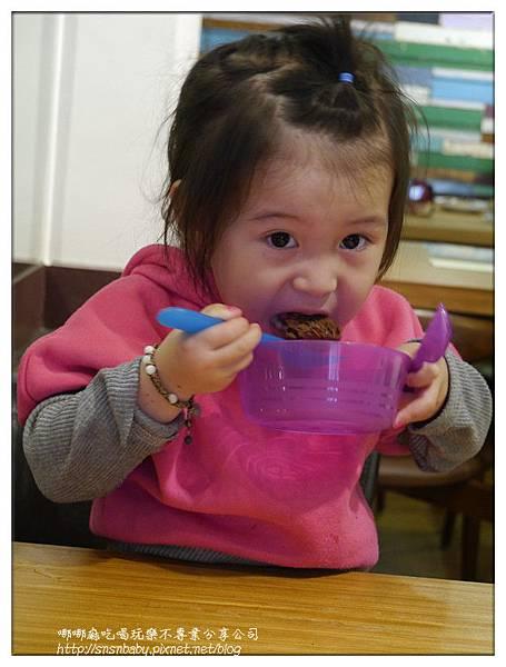 吃巧克力脆餅