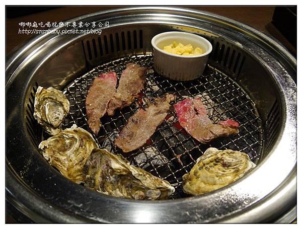 烤爐內的肉