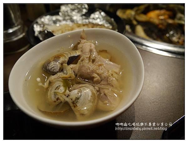 蛤蠣雞肉湯