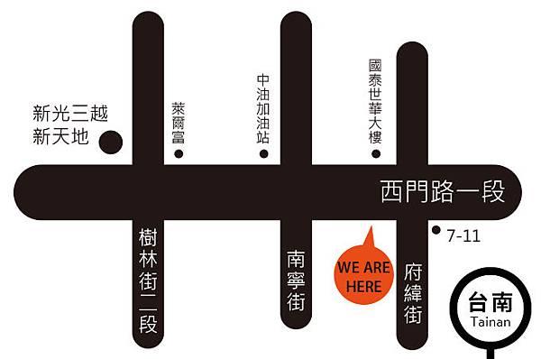 台南門市地圖