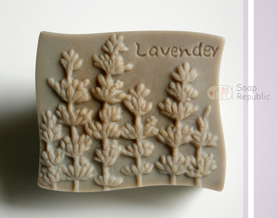 薰衣草‧Lavender 矽膠皂模