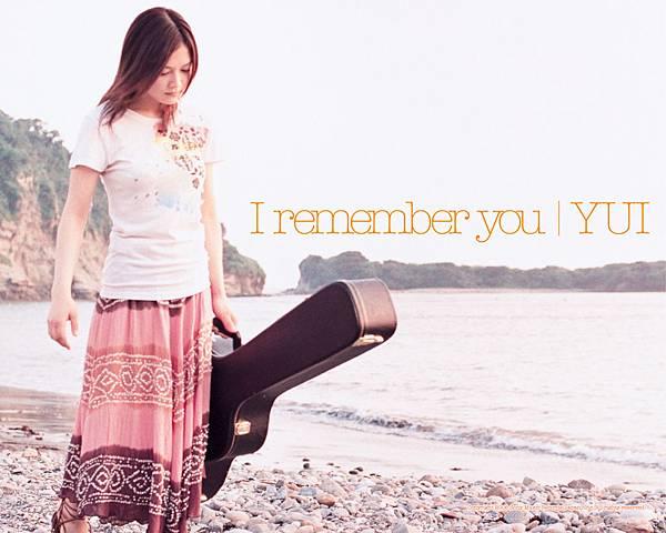 I remember you【初回生産限定盤】