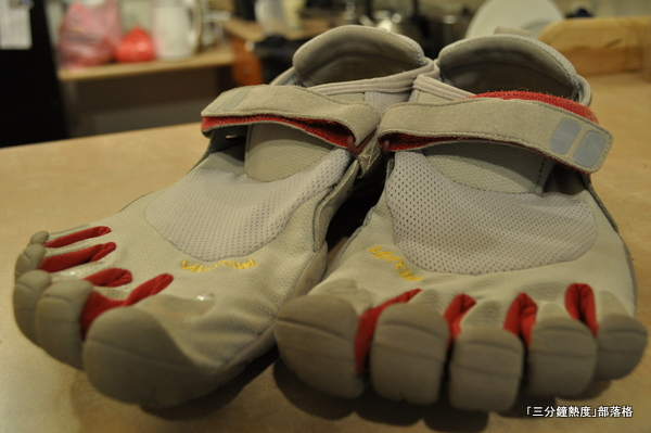5指鞋 Vibram Five Fingers