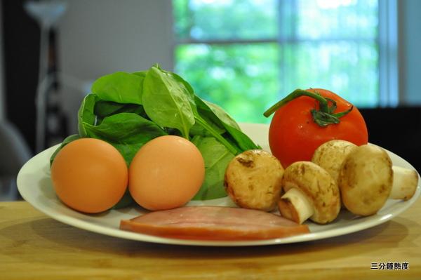 歐姆蛋食材