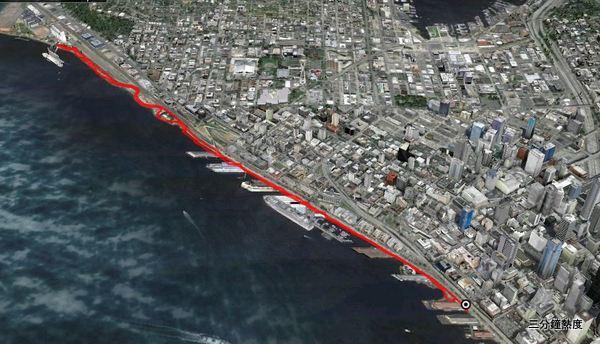 西雅圖漁人碼頭路線
