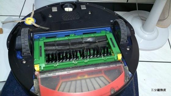 Roomba 560 背面