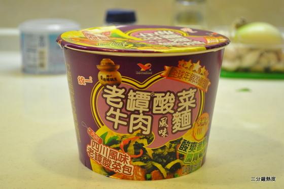 統一老譚酸菜牛肉麵