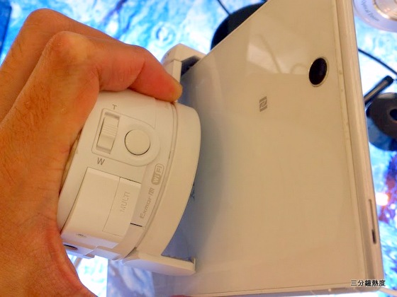 Xperia Z Ultra 無法掛上 QX10、QX100