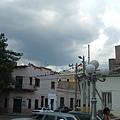 劇場外面:街景