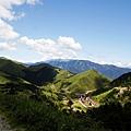 山谷是村落和農田