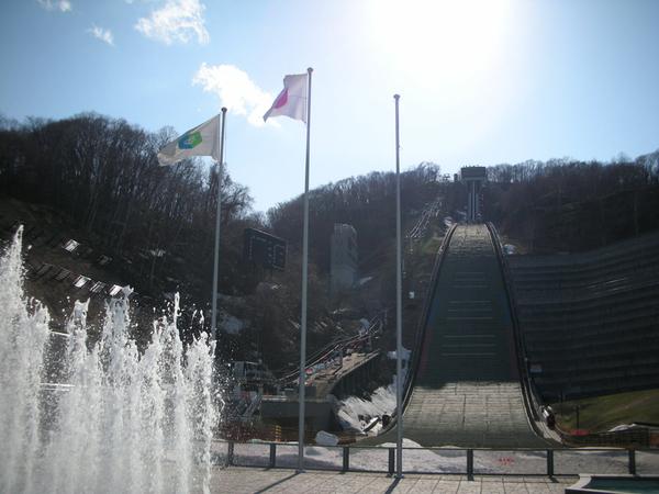 20幾年前,這裡是冬季奧運的比賽場地