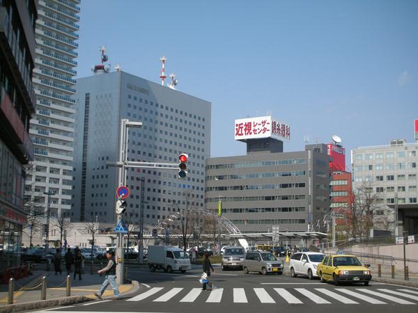 札幌車站前街景