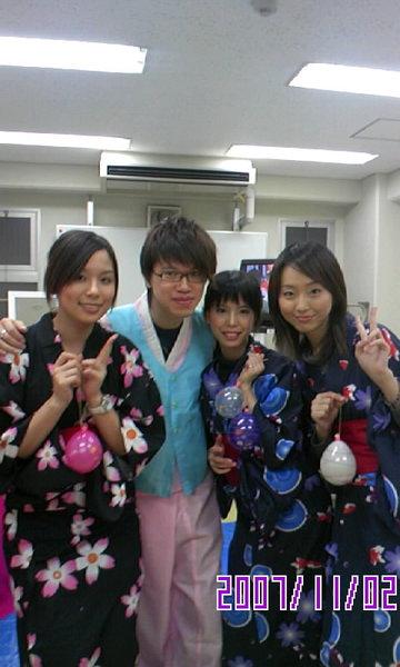 日韓傳統服大集合