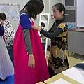 momo穿韓服