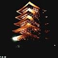 夜晚的淺草寺