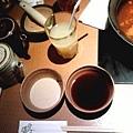 芝麻醬VS柚子醋