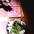 日本的肉跟菜