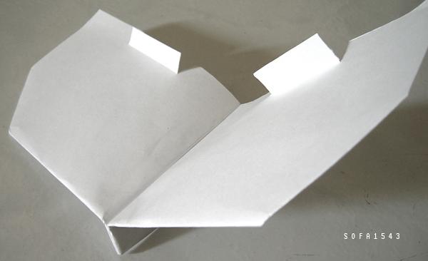 紙飛機.升降舵.2