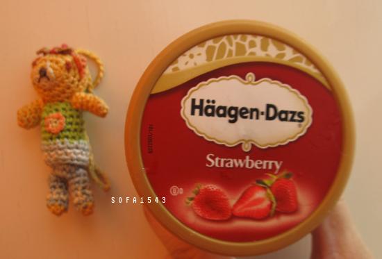 20100505餐後甜點.迷你杯哈根大隻.草莓