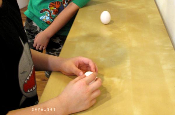 端午前夕立雞蛋