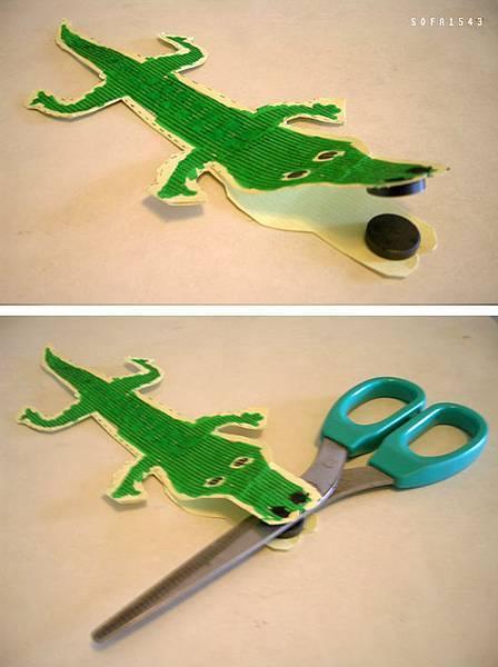 會咬人的鱷魚.磁鐵遊戲