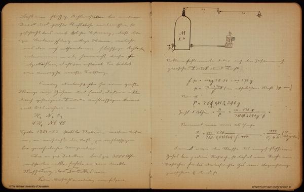 愛因斯坦的物理筆記本