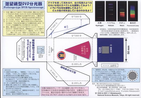 分光計.光譜儀.spectroscope diy.1