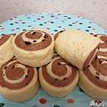 巧克力雙色饅頭2