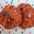 巧克力大牛角麵包