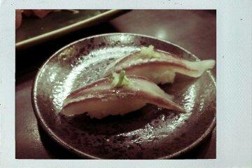 馬鞭魚握壽司