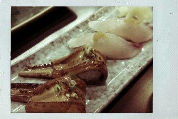 星鰻 & 鰆魚握壽司