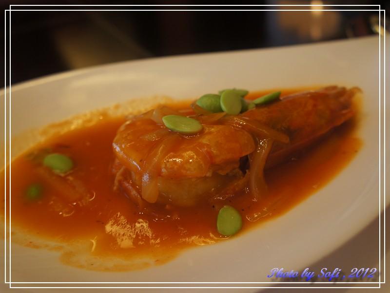 台北遠東飯店39F上海醉月樓-茄汁大海蝦.jpg