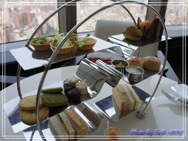 20120305 [台北] 遠東飯店39F馬可波羅酒廊-雙人下午茶-1