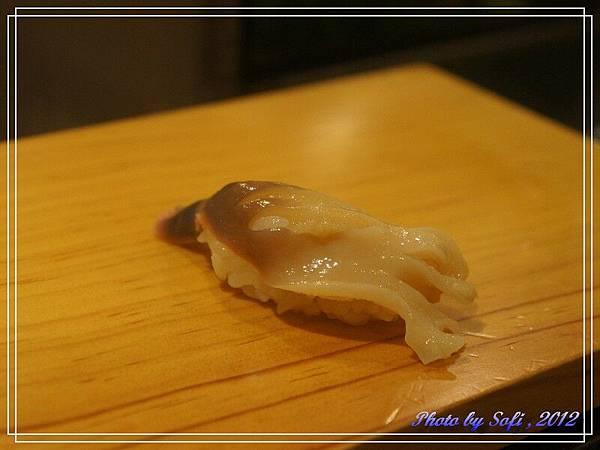 20121110 [台北] 高玉- 北寄貝握壽司