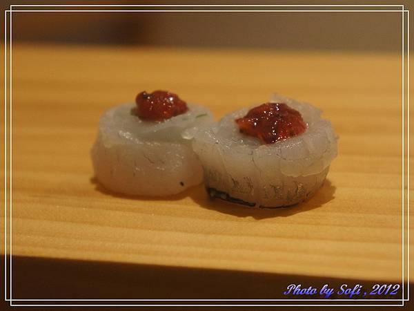 20121110 [台北] 高玉-紫蘇水針綴梅子醬