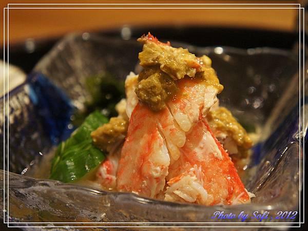 20121110 [台北] 高玉-醋漬毛蟹