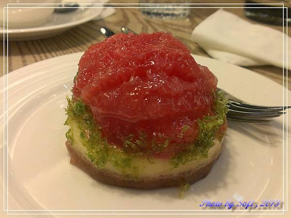 20130916 [台北] 艾莉兒-葡萄柚起司塔